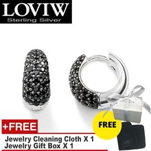 Water Drop Creole Hinged Hoop Earrings ,drop shipping European Style Fashion Good Jewerly For Women New Gift 925 Sterling Silver
