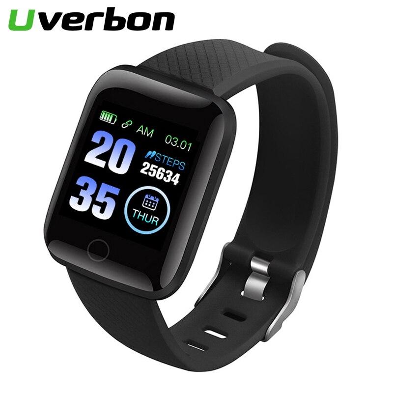 D13 Smart Watch IP67 Waterproof Smartwatch Blood Pressure Heart Rate Monitor Fitness Tracker Sport Watch 116 Plus For Men Women