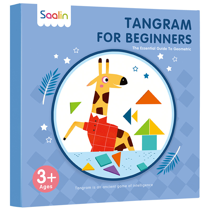 Magnetic Montessori Jigsaw Puzzle Speelgoed Tangram Alphabet Animals Portable Magnetic Book Kids Geometric Shape Educational Toy