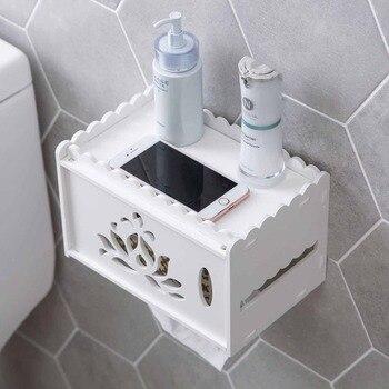 Porte Papier Toilette Tablette
