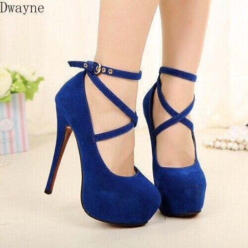 Free Shipping Hot Fashion New High-heeled Shoes Woman Pumps Wedding Party Shoes Platform Fashion Women Shoes High Heels 14cm
