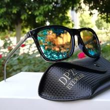 2019 DPZ Band Polarized Sunglasses Men Driving Square Black Frame rays