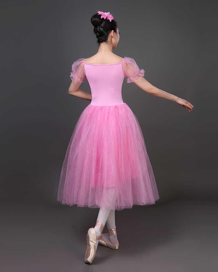 Nuovo Vestito Da Balletto il Lago Dei Cigni Tutu Velo Costume Professionale Danza Classica Per Adulti Pannello Esterno Del Soffio Bianco Balletto Classico Pannello Esterno Chiffon Delle Donne