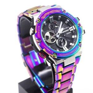 Чехол из нержавеющей стали 316L для Casio G-shock, чехол для часов с браслетом для часов, с ремешком для часов, с эффектом G-shock, с креплением на запяст...