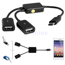 2in1-USB-3-1-Type-C-To-Micro-USB-2-0-Power-Charging-Host-OTG-Hub-Cable-Adapter