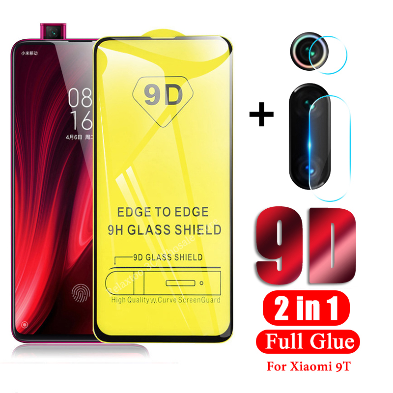 2 in 1 Tempered Glass for <font><b>Xiaomi</b></font> <font><b>Mi</b></font> <font><b>9T</b></font> Lens Protective Glass for Mi9 T Screen <font><b>Protector</b></font> xiomi xaomi Mi9T Glas <font><b>Camera</b></font> Lens Film image