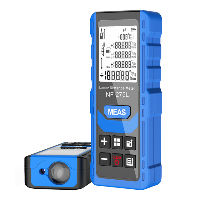 Noyafa NF-275L Green Laser Distance Meter 60M 100M Rangefinder Tape Range Finder Electronic Level Test Instrument 2