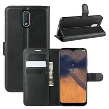 Wallet Phone Case for Nokia 2.3 for Nokia 2.2 for Nokia 3.2 for Nokia 1.3 Flip Leather Cover Case Capa Etui Coque Fundas crocodile pattern genuine real leather card holder flip case cover for nokia 6 1 plus nokia 6 nokia 6 2018 leather case capa