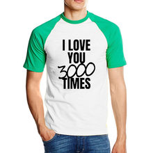 Lytlm I Love You 3000 T Shirt Japanese Old Man Frerro Tony Stark T-shirt Moda Hombre 2020 Kemeja Oversized Streetwear Pakaian Pria ukuran Besar(China)