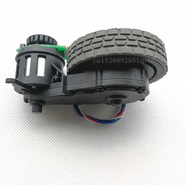 Oryginalne prawe koło z silnikiem do odkurzacz robot Ecovacs Deebot DT85 DT83 odkurzacz robot części silnik koła