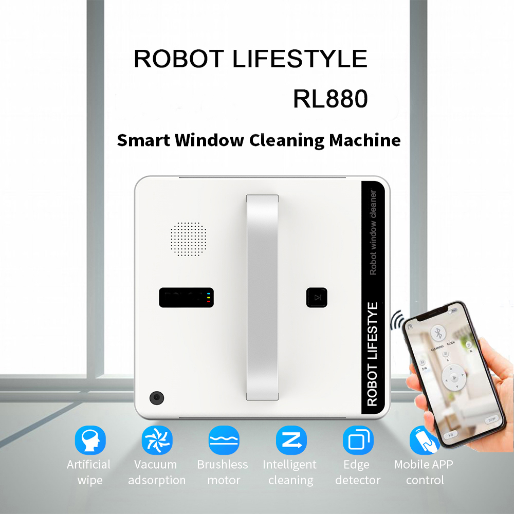 Nouveauté robot automatique grand nettoyeur de vitres nettoyeur d'herbe télécommande table nettoyeur de sol livraison gratuite