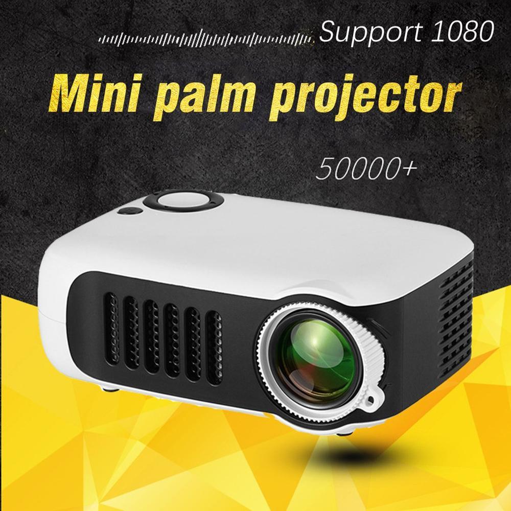 HD 1080P Мини Портативный карманный проектор кинопроекторы Домашний кинотеатр HDMI развлекательная проекция