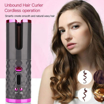 Wireless Curling Iron for Hair 4