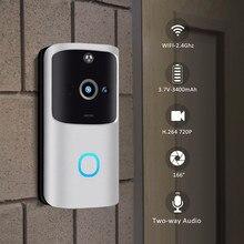 CARPRIE V5 видео дверной звонок умный беспроводной WiFi безопасности дверной звонок визуальная запись домашний монитор ночного видения домофон дверной телефон
