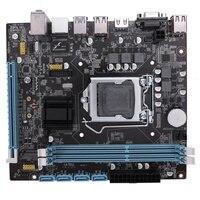 전문 마더 보드 h110 lga 1151 ddr3 ram usb 3.0 2.0 보드 지원 코어 i3 i5 i7 쿼드 cpu 듀얼 채널 데스크탑 컴퓨터 m
