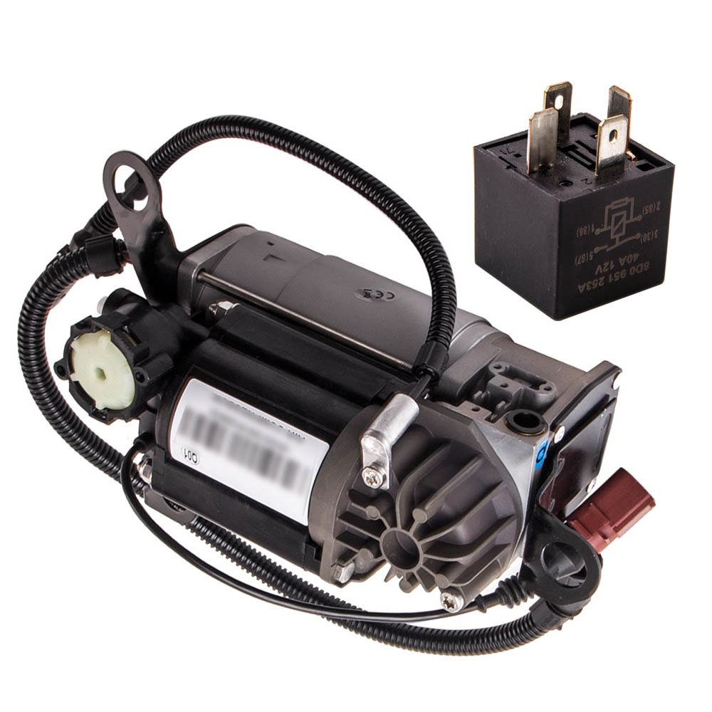 4E0616007C Air Suspension Compressor Pump For Audi A8 (D3 4E) Diesel 10/12 Cylinder 4E0616007E 4E0616005E 4E0616040AF Shock Absorber& Struts     - title=