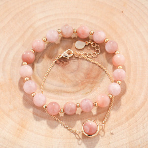 24 Styles Korean Fashion New Natural Stone Beaded Bracelet Woman Personality Luxury Lucky Cuff Bracelet Jewelry Anniversary Gift