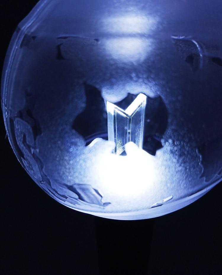 Nouvelle armée bombe Fanlight officiel 3.0 lightstick Bluetooth app changer couleur bâton lumineux kpop cadeau - 4