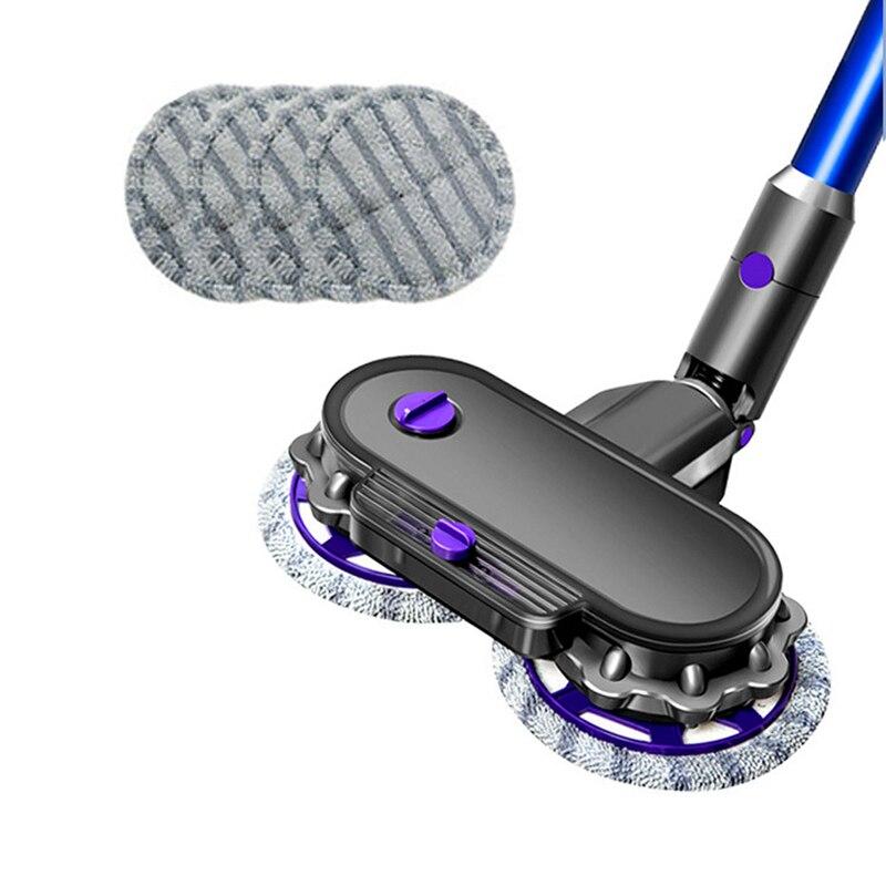 limpeza eletrica mop cabeca com fibra superfina 01