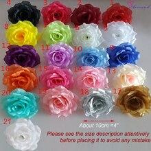 10 шт 10 см Искусственный шелк роза Ремесло Цветок голова свадебное украшение поддельный цветок для DIY Золотой цветок стены fleurs artificielle