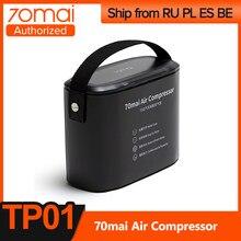 70mai – Mini compresseur à Air électrique portable, 12V, pour voiture, vélo, moto
