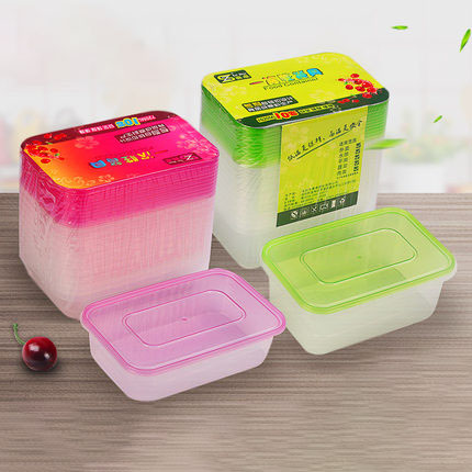 10 Pack Food Container With Lid Single Container Meal Prep Containers, Bento Boxes Disposable Plastic Bento Insulated Lunch Box