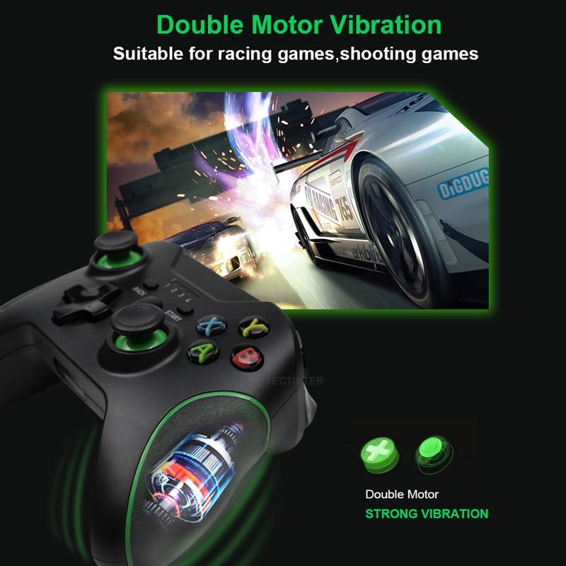 2,4G беспроводной игровой контроллер для Xbox One, для ПК, для Android геймпад для смартфона 2