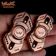 YUC Viper Mini Metal Fidget Spinners Senior Stainless Steel Adult Anti Stress Gyro Toys R188 Mult Bearing ADHD Hand Spinner