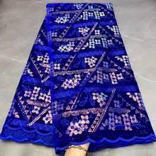 Tissu en dentelle pailletée pour mariage, nouvelle collection 2020, JY3003