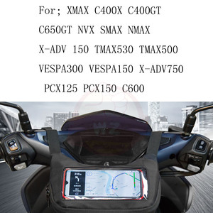 Motorcycle Scooter Waterproof Bag Motorcycle Mobile Phone Navigation Frame Adapter forBMW C400X C400GT C650HT Navigation Bag