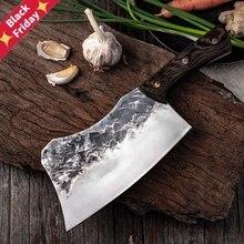 Кованый молоток для костей, кухонный нож мясника из высокоуглеродистой нержавеющей стали, кухонный измельчитель, Мясницкий шеф, инструмент...