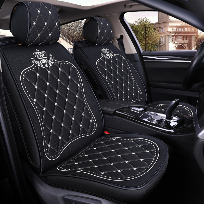 Car Seat Cover Vehicle Seats Case for Audi A6 C5 C6 C7 4f Avant Allroad 2010 2011 2012 2013 2014 2015 2016 2017 2018 2019 image