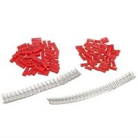 300Pcs (50 set) 2 54mm JST SYP 2 Pin Weibliche & Männliche Roten Stecker Gehäuse Crimp Terminal Connector Kit-in Terminals aus Heimwerkerbedarf bei