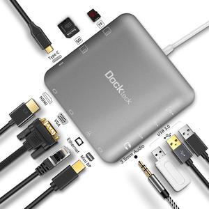 Image 2 - Usb cマルチポートハブ、cablecreation 11で1 usbタイプcマルチポートハブ、サンダーボルト3互換性、グレー/ローズゴールド