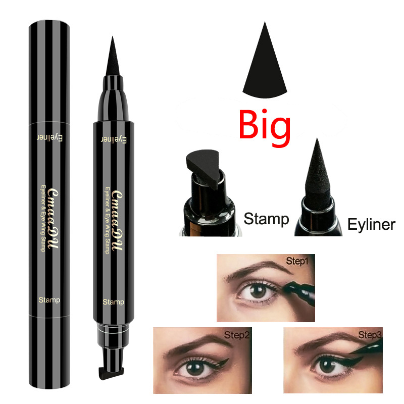 Cmaadu Waterproof Eyeliner Eye Black Makeup Pen Multi-function Double Head Anti-stun Seal Seal Eyeliner Tattoo Tool TSLM2