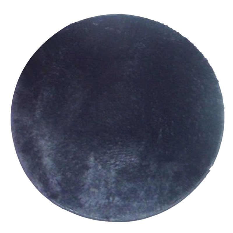 Heißer Runde Teppich 40cm Anti-slip Schlafzimmer Stuhl Kissen Yoga Matte Boden Tür Teppich Für Wohnzimmer Matte kinder Zimmer Spielen Abdeckung