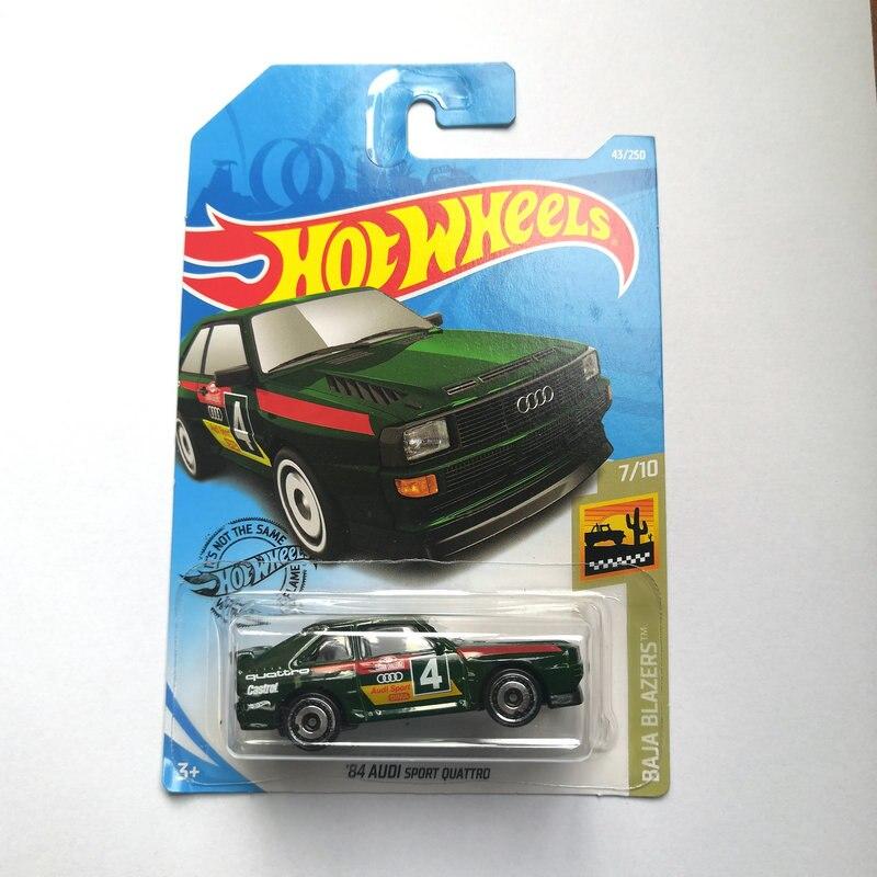 250 caja nuevo y original Hot wheels-2019 ´ 84 AUDI SPORT QUATTRO 43