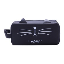 Pencil Case Pencil Pouch School Pencil Case with kingdom of the cat Cat ears(China)