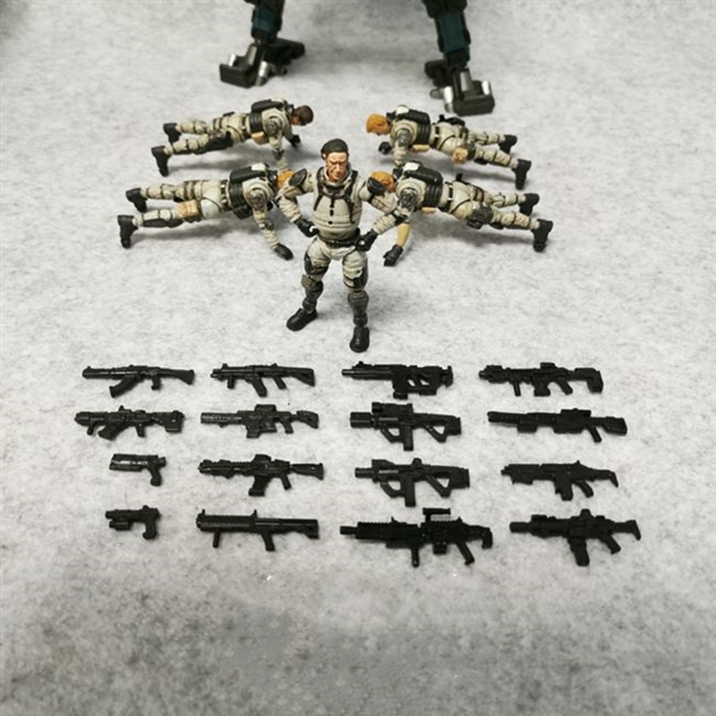 JOY TOY  1/27 Soldier Weapon Accessories 2.5 Inch Soldier Weapon Model Doll  Accessories