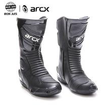 ARCX אופנוע מגפי באיכות גבוהה עמיד נוח אופנוע סיור אופניים רכיבה מקצועי מירוץ רוכב מגפיים