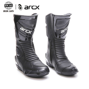 Image 1 - ARCX دراجة نارية أحذية عالية الجودة دائم مريحة دراجة نارية بجولة دراجة ركوب المهنية متسابق سباق الأحذية