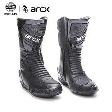 Arcx botas de motocicleta, botas de alta qualidade, duráveis, confortáveis, para pilotos, motocicleta, turismo, profissional