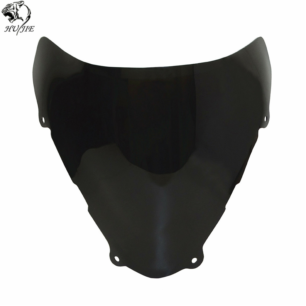 Image 2 - For Suzuki SV650 SV650S SV 650 650S 1999 2000 2001 2002 Double Bubble Windscreen Windshield Shield Screen-in Windscreens & Wind Deflectors from Automobiles & Motorcycles