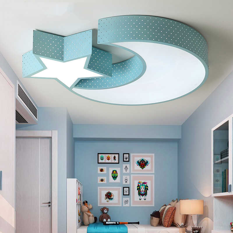 Children S Room Led Light Baby Room Girl Lamp Led Star Roof Light Moon Child Kids Room Light Kids Bedroom Ceiling Light Lamp Ceiling Lights Aliexpress