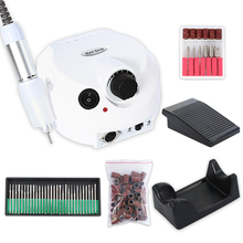 30000RPM  Machine Apparatus for Manicure Pedicure Kit Electric Nail Drill  Art Polisher set