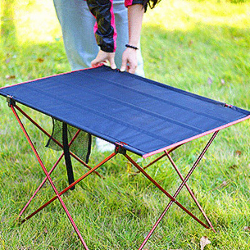 Outdoor Aluminum Folding Table Lightweight Portable Camping Table For Picnic Beach/table,folding Table,camping Tables