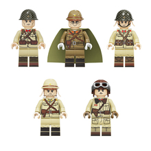 WW2 Military Japan Army Soldier Figures Building Blocks Military WW2 Army Soldier guns Weapon MOC Bricks Toys for Children Gift ww2 japanese army type 98 soldier uniform sets jacket