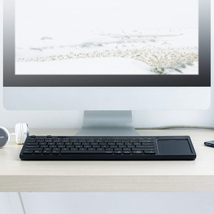 Image 5 - Rapoo K2800 Wireless TV Keyboard with Touchpad, Easy Media Control and Built in Big Size Touchpad