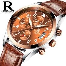 Наручные часы Мужские кварцевые часы повседневные Relogio Masculino деловые мужские часы с кожаным ремешком новые модные часы Роскошные Брендовые Часы