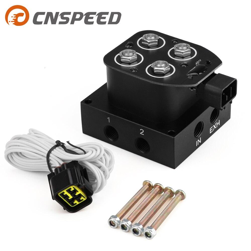 에어 라이드 서스펜션 백 컨트롤러 솔레노이드 밸브 매니 폴드 키트 4 코너 300psi